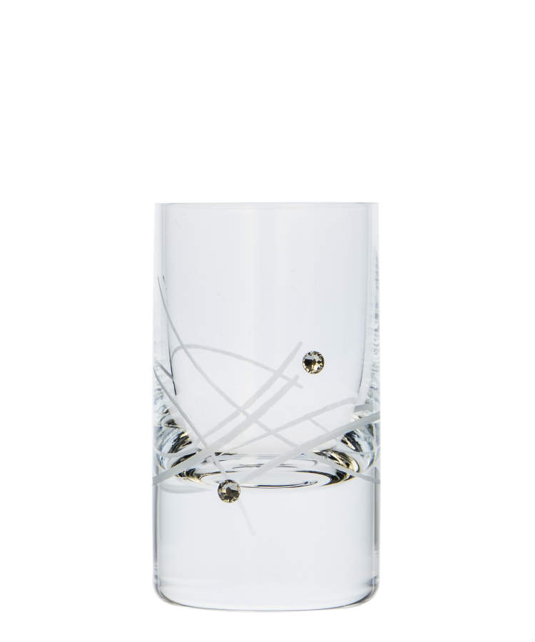Vodka Spirit glass 30ml 27181 Swarovski Crystals (6KS)
