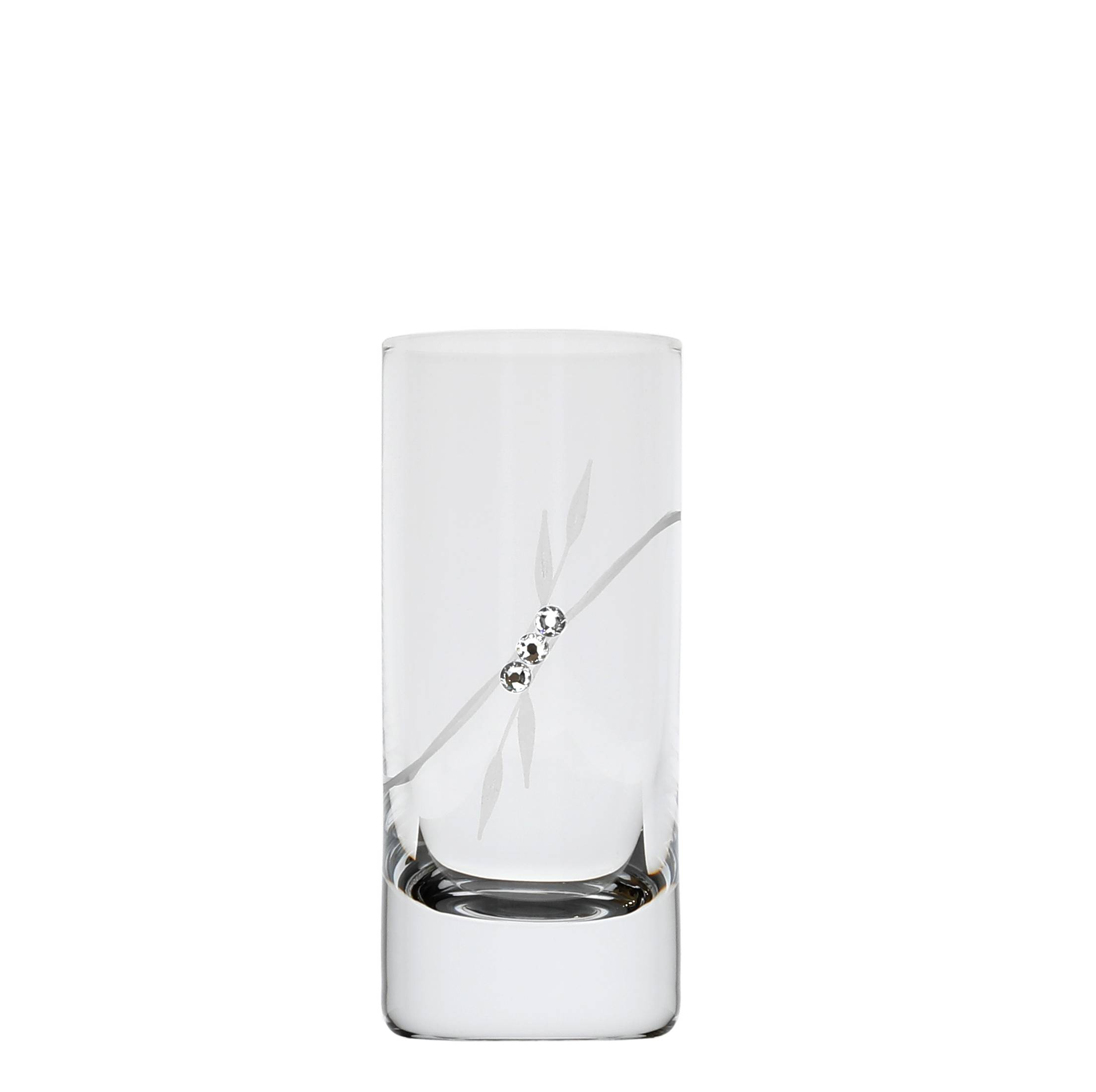 Vodka Shot 70 ml 139 swarovski Crystals (6KS)