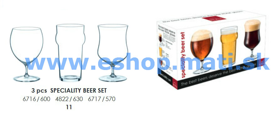 Speciality beer/pivo 3 dielny set