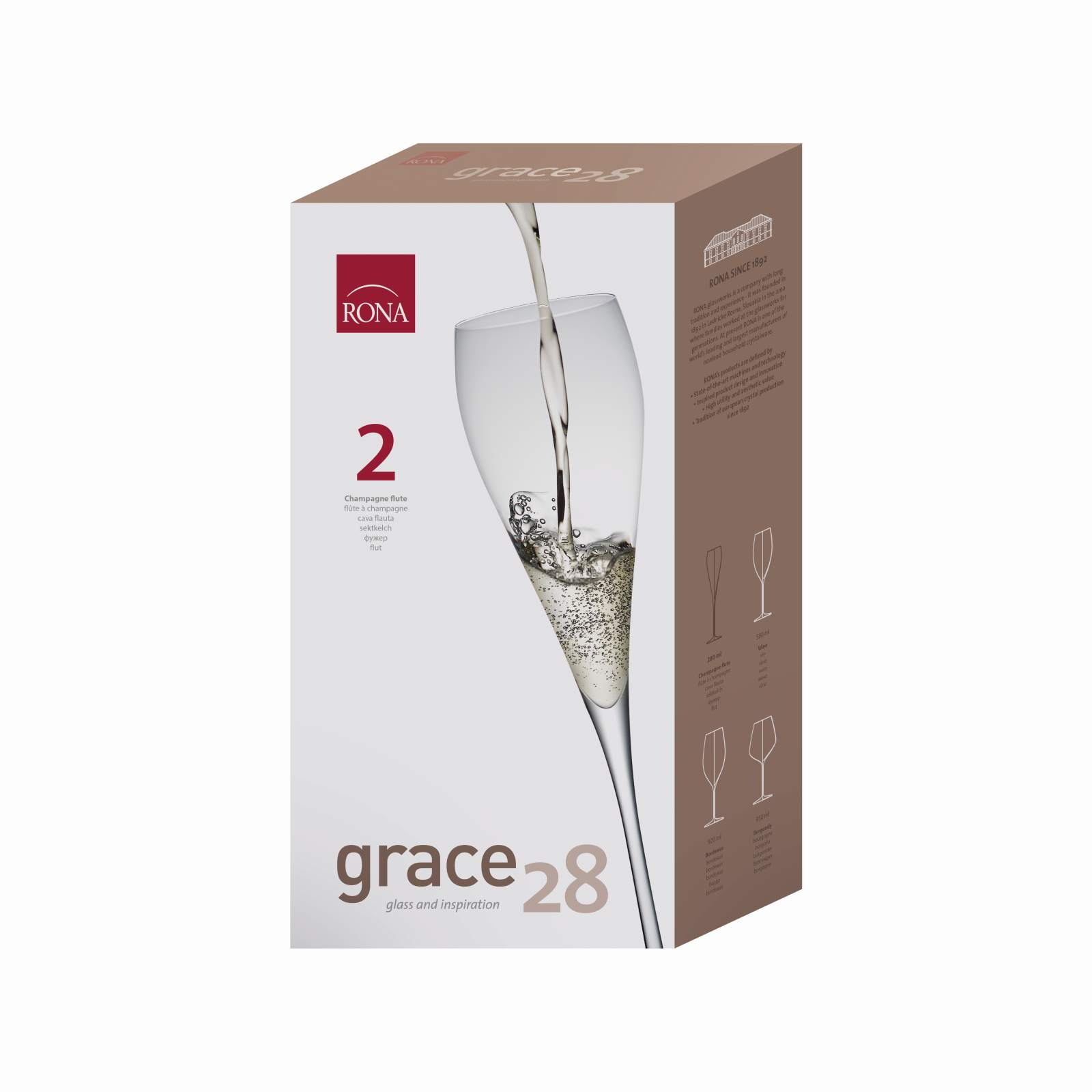 Grace 280ml flétňa (2KS)