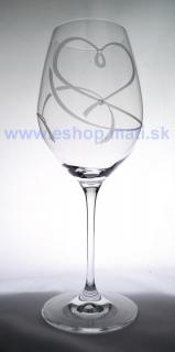 Wine 470 Celebration 25260 srdce Swarovski (2KS)